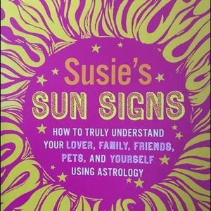 Susie's sun signs horoscope book Susie Cox new